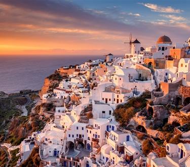 Ekskluzywne Santorini i Mykonos -
